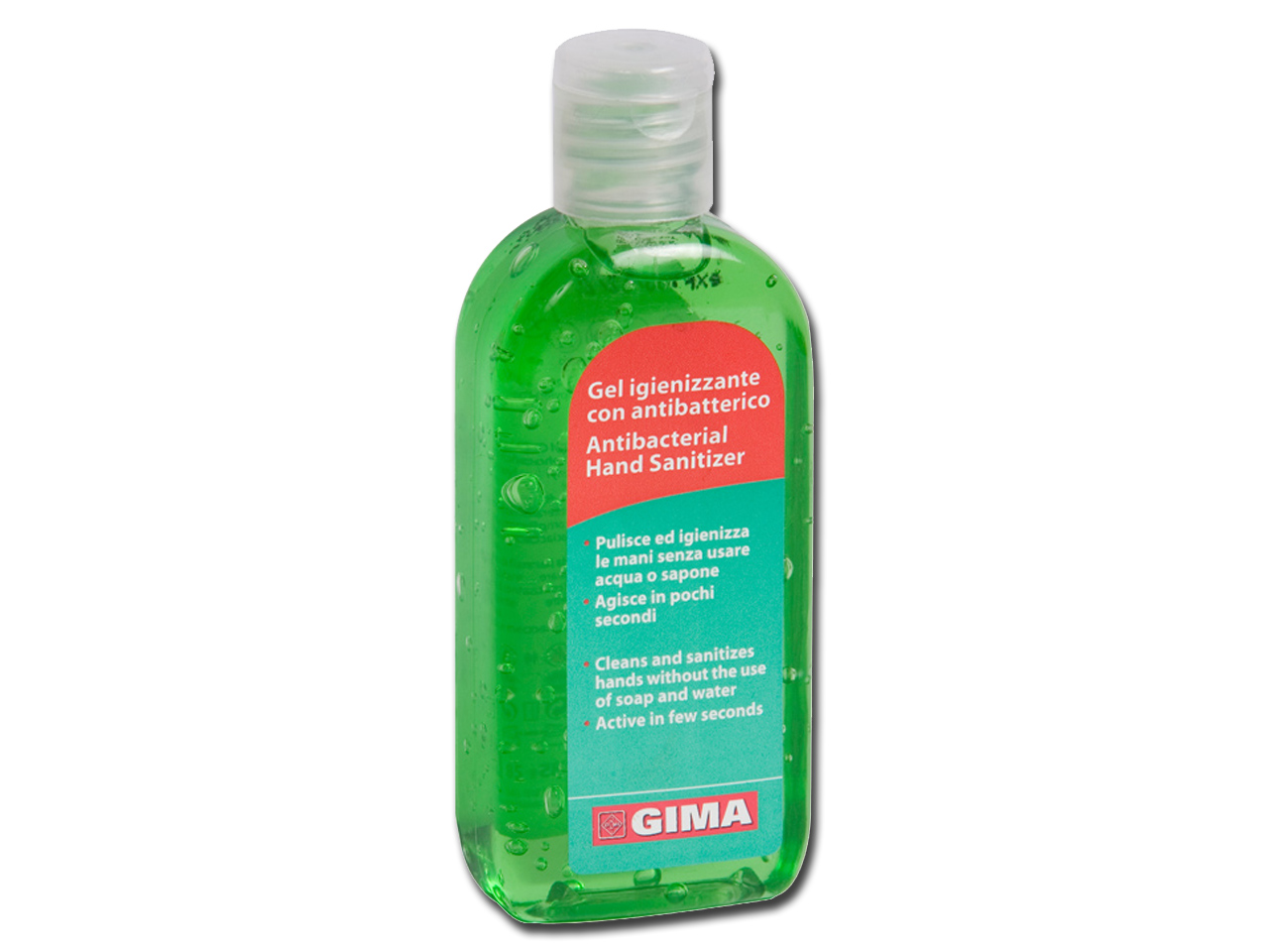 ANTIBACTERIAL HAND CLEANING GEL - 85 ml - green apple