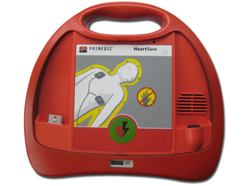 DEFIBRILLATORE HEART SAVE PAD - italiano