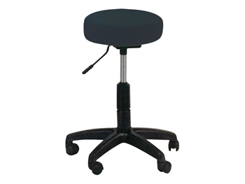 SKAY HEIGHT ADJUSTABLE STOOL - black